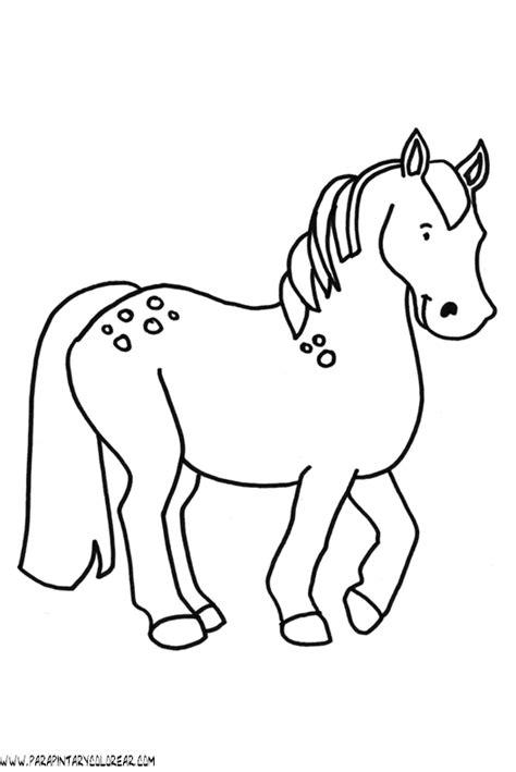 imagenes para colorear un caballo dibujosde caballos imagui