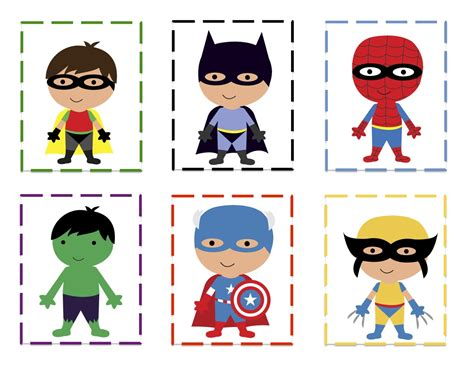 printable superhero number cards superhero printable for making patterns teaching ideas