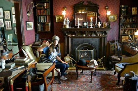 Sherlock Living Room by 221b Living Room Bild Sherlock Museum