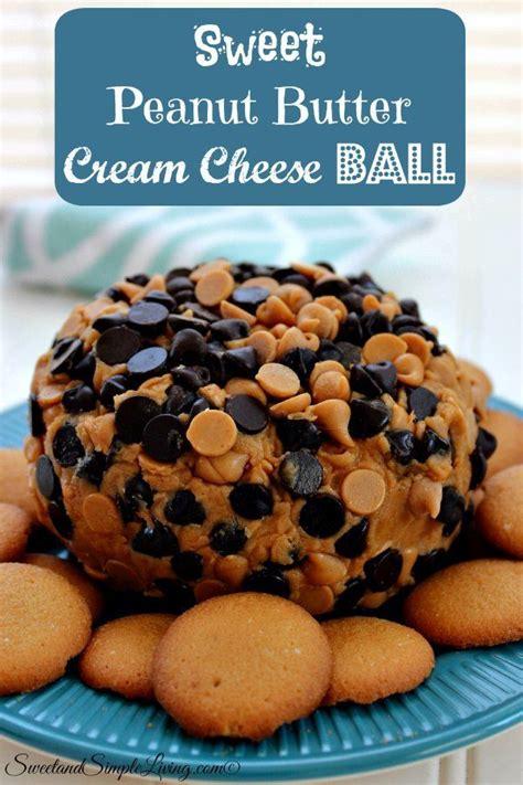 sweet peanut butter cream cheese ball recipe