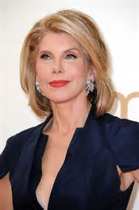 goodwife hair styles christine baranski photos tv series posters and cast