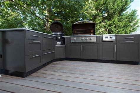 exterior kitchen cabinets where to purchase custom stainless steel outdoor kitchen