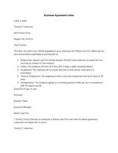 Business Letter Contract Signing Business Agreement Letter Hashdoc