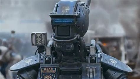 film robot policier trailer du film chappie chappie bande annonce 2 vo