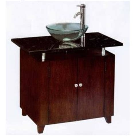 Glass Bowl Bathroom Vanity by Bathroom Accessories May 2007
