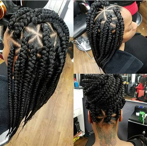 how to do triangle parts for hair braiding box braids natural hairstyles protective hairstyles