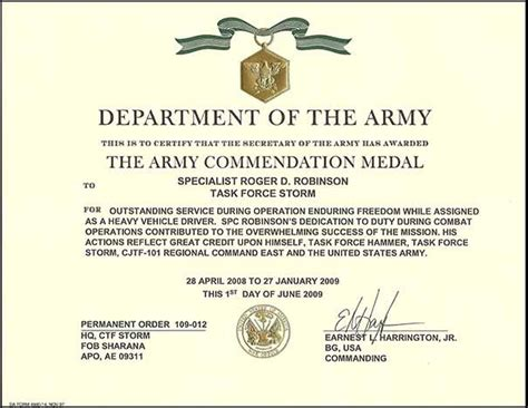 meritorious service medal citation template 14 meritorious service medal citation template