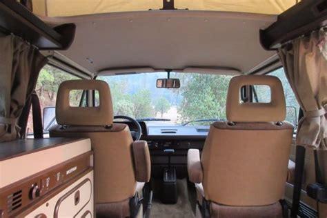 vw volkswagen vanagon westfalia full camper automatic air conditioning classic