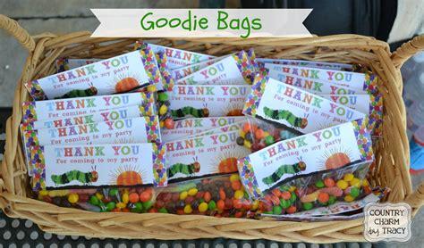 Snack Goodie Bag Label goody bags ideas adults literaturemini ml
