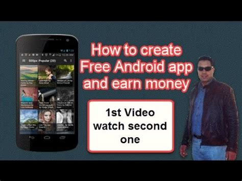 how to write android apps yt 32150 how to create free android app and earn money webdesigning technology