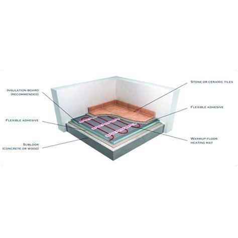 warmup mat 200w mat underfloor heating kit 6 metre2 at