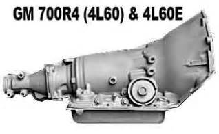 automatic transmission cross reference database 4l60e
