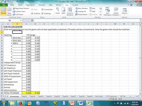 Printables. Fte Calculation Worksheet. Ronleyba Worksheets