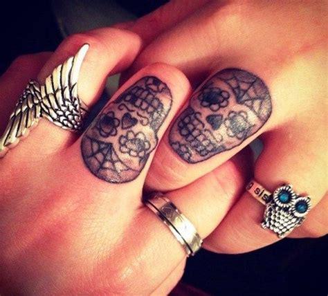 sugar skull finger tattoo 38 best friends girly tattoos images on best