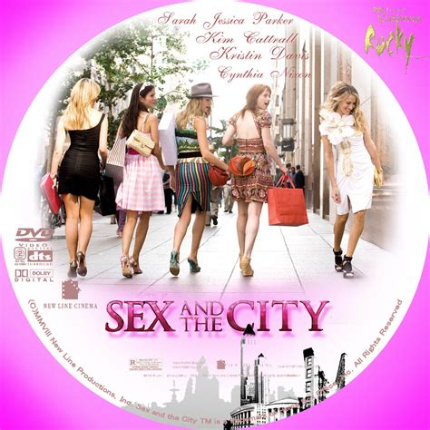 And The City The On Dvd by セックス アンド ザ シティ And The City Dvdラベル アート ミュージアム