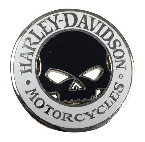challenge coin size harley davidson willie g skull cutout challenge coin 1 75