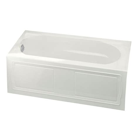 devonshire bathtub kohler devonshire 5 ft left hand drain acrylic bathtub in