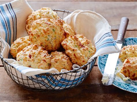 bacon cheddar and chive biscuits recipe food network
