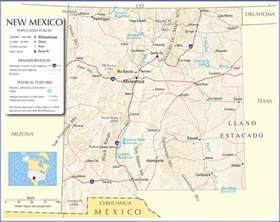 Nm State Map by New Mexico Map New Mexico State Map New Mexico Road Map