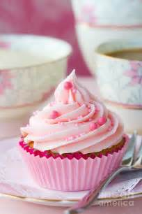 pink cupcake photograph by ruth black