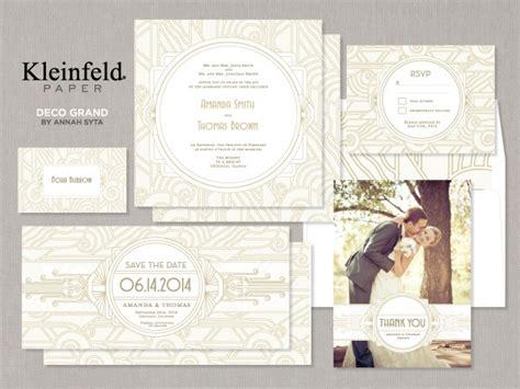 kleinfeld bridal wedding invitations deco grand invitations by kleinfeldpaper kleinfeld paper shops invitations and