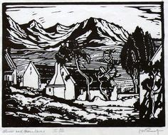 tattoo parlour rustenburg a black and white woodcut of trees by pierneef art