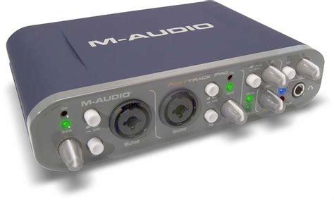 Sound Card Usb M Audio fast track pro m audio fast track pro audiofanzine