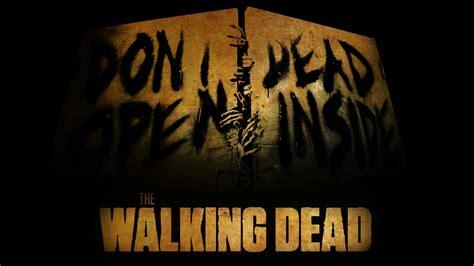 Kaos The Walking Dead Dont Open Dead Inside Putih 1 walking dead don t open dead inside wallpap by overlourd9