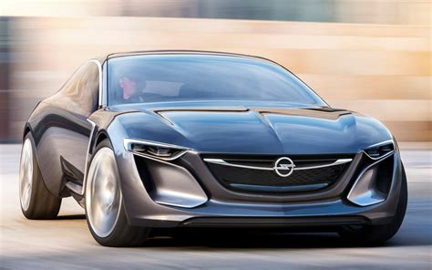 2017 Opel Monza Car Wallpaper