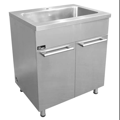 stainless steel sink base cabinet with built in garbage can in 18 ssc3036 stainless steel sink base cabinet with built in