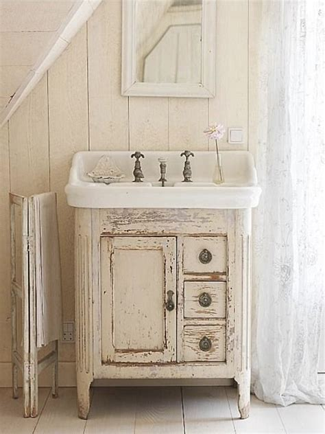 shabby chic bathroom cabinet with mirror shabby chic bathrooms shabby chic and love this on pinterest