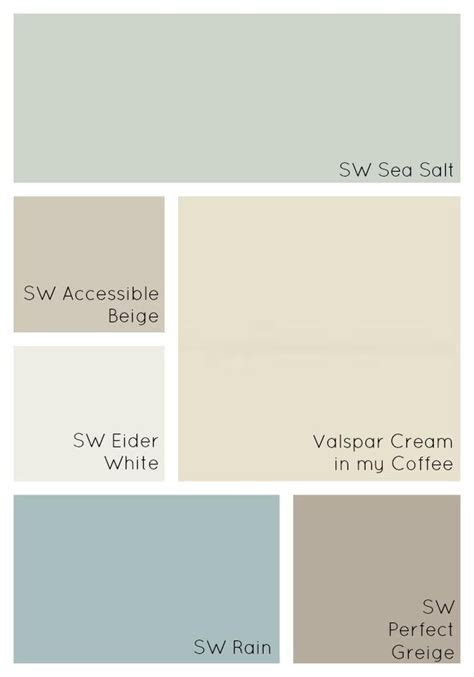 colors for home interiors 25 best ideas about cottage paint colors on