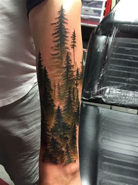 forest tattoo sleeve tattoocrazy123 nature tattoos forest