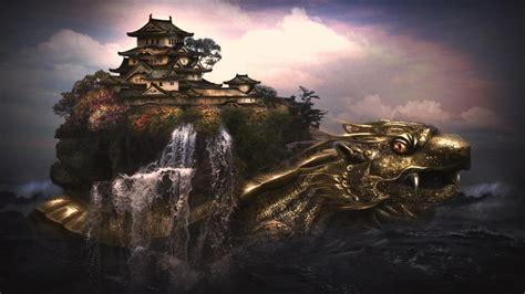 green dragon turtle chinese creature mythology turtle
