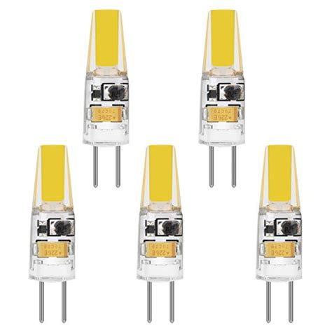 Led Le G4 Sockel 12v Weiss Warm le 5 pack g4 bulb led l warm white 2w 210lm 12v dc ac import it all