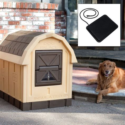 dog palace dog house with floor heater dog heater house