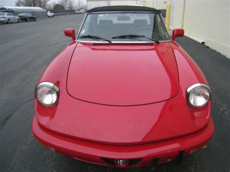 how can i learn about cars 1992 alfa romeo 164 engine control sell used 1992 alfa romeo spider in medinah illinois