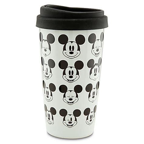 Disney Ceramic Mickey Mouse Travel Mug - disney gift guide 2012 magical mornings the disney