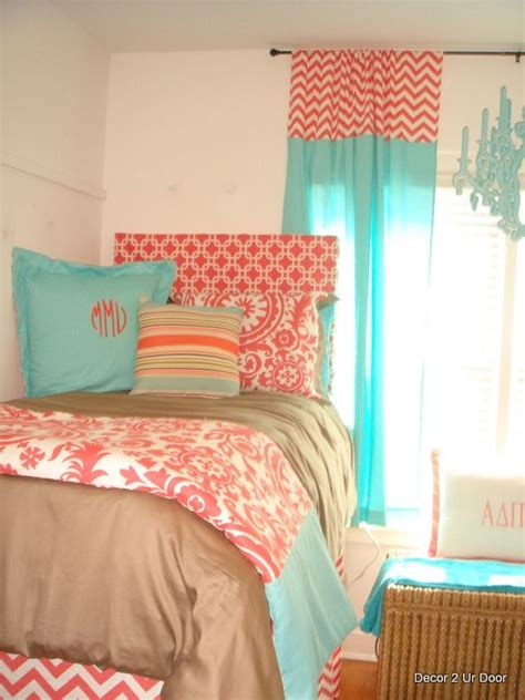 Gray Teal And Coral Bedding by 71 Best Coral Teal And Gray Images On