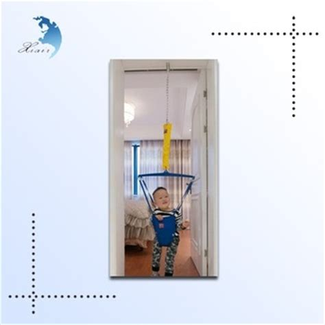 baby swing that hangs from door frame door hanging adjustable height metal accessories baby