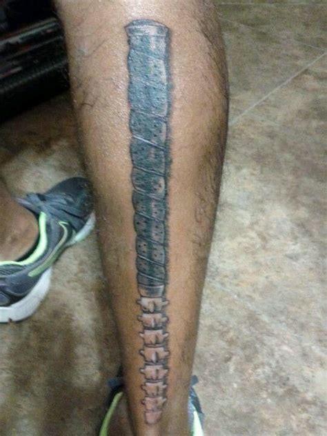 golfing tattoos designs golf club spine cover up tatoos