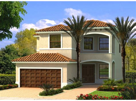 Florida Style Homes tropical hill florida home plan 106d 0044 house plans
