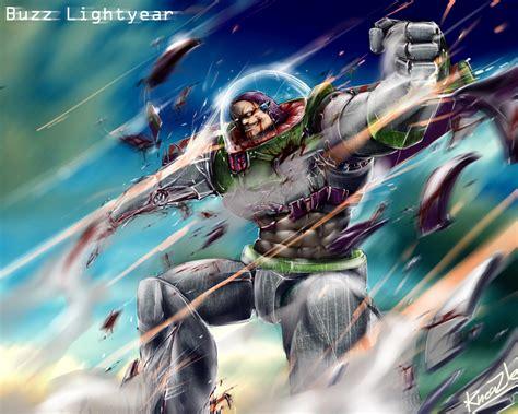 buzz lightyear painting buzz lightyear my style by kneaz on deviantart