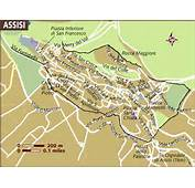 Map Of Assisi