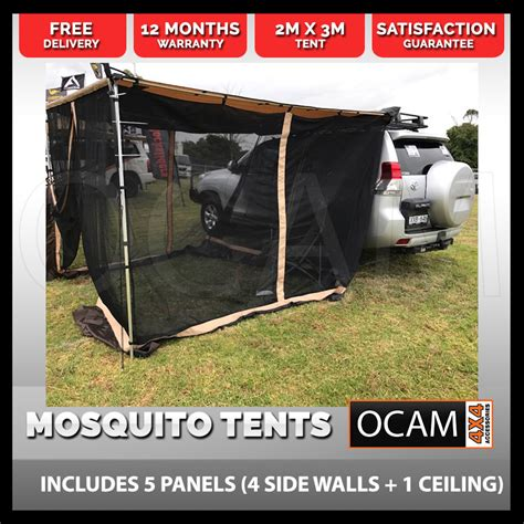 4x4 awning side walls great quality cing mosquito tent 200x300 4x4 cing