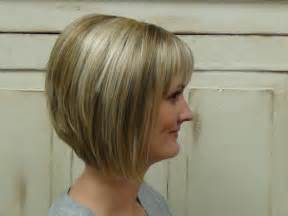 a line haircuts front and back views concave bob shoulder length hairstyle front and back view