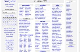 Tri Cities Tn Classifieds Free Classifieds Ads For Tri | stumblers who like craigslist tri cities tn classifieds