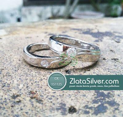 Cincin Rhodium L Cincin Tunangan L Cincin Kawin Perak cincin kawin winny zlata silver