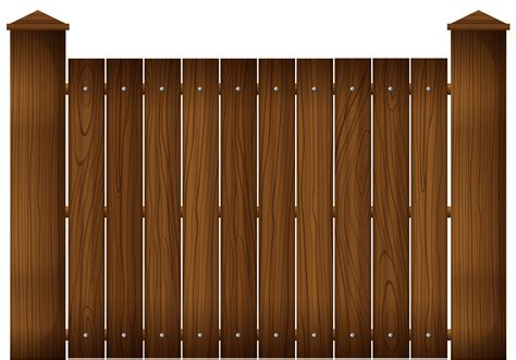 fence clipart wooden fence clipart clipground