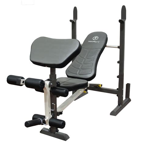 standard bench press amazon com marcy folding standard weight bench easy